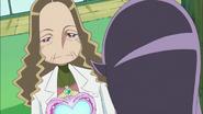 Kaoruko le dice a Yuri que vaya al Árbol Corazón