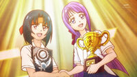 STPC16 Yumika and Madoka agree to compete against each other again the following year