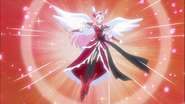 Cure passion Angel Finishing Pose