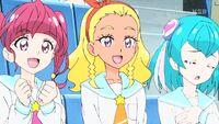 STPC16 Hikaru, Elena and Lala are happy for Madoka
