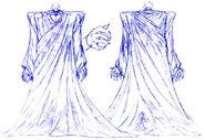 Bocetos de los Perfiles de Akudaikan