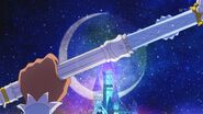 Prince Holding the Crystal Rod