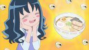 Erika imaginando el ramen de Miura