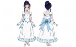 FwPCMH movie1-BD art gallery-06-Yukishiro Honoka dress