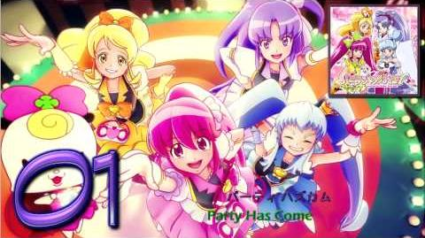 HappinessCharge Precure! 2nd ED Theme Single Track01