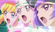 Mahou tsukai derrotan deusmast