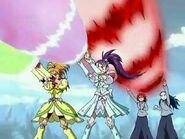 Spiral Star Splash with Michiru and Kaoru