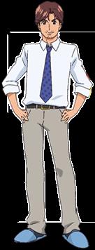 Masaru stehend