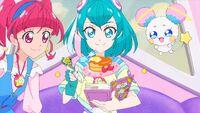 STPC31 Lala makes pancakes for Fuwa