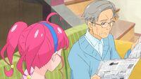 STPC35 Harukichi gives Hikaru advice