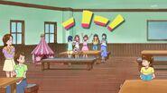 17.Haruka celebrando su ingreso al concurso