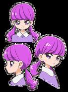 Expreciones de Yukari de pequeña