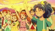 Las chicas en el concierto de Misaki