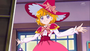 Mirai in her school uniform