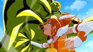 Sunny peleando contra Fusion new stage