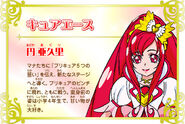 Cartel de Cure Ace en Pretty Cure All Stars New Stage 3