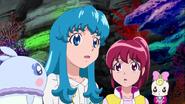 Hime hablanco con Yumeta en new stage 3