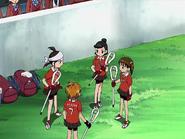 Maki megumi discuten partido
