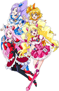Perfil Fresh Festival Pretty Cure