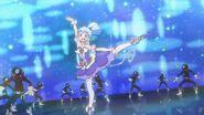 Sorbete Ballet bailando para completar el ataque