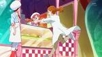 KKPCALM31-Satomi runs to Ichika