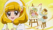 SmPC21 Yayoi wish is to be a famous artist