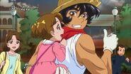 Aki ayudnado a Michiko