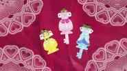 Llave de Vestir de Flora, Mermaid y Twinkle al final del episodio 4