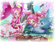 Whip, Sakura y Shizuku en e hanami