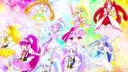 Las DokiDoki Pretty Cure y HappinessCharge Pretty Cure recuerdan la importancia de un corazón amable