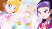 Mirai and Riko's Linkle Stones
