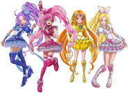 Perfil de Suite Pretty Cure