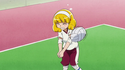 SmPC02 Yayoi playing volleyball
