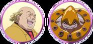 Yes! Pretty Cure 5 GoGo! Nebatakos faces
