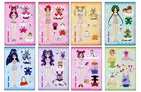 collection of yes pretty cure 5 gogo dolls clothes