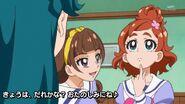 08. Kirara preguntandole a Haruka que deporte decidira hacer