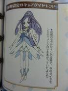 Boceto preliminar de Cure Diamond