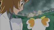 Itsuki decide hacerse cargo del desertrian poste de electricidad