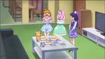 MTPC36 - Ha-chan and Riko looking at Mirai