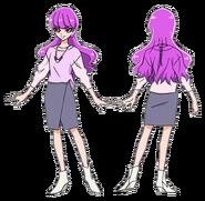 Yukari atuendo pelicula sin abrigo