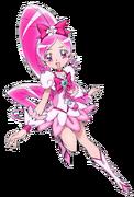 Heartcatch precure cure blossom render by alehoshizora-d55xbgg (1)