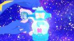 Rainbow Splash Cosmo charges the perfume with Aquarius Pen