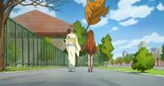 DDPC43 - Mari and Aguri walk home after making up