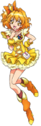 Pretty Cure All Stars DX2 Cure Pine pose