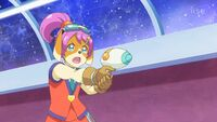 STPC36 Mary Ann aims her gun at Tenjo