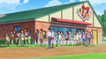 Kirara's line of fans