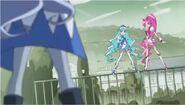Las Pretty Cure frente a Cobraja