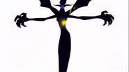 Dark Witch destruida por el ataque