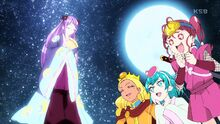 STPC12 Lala and Hikaru fangirl over how pretty Madoka is