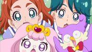 Todo el grupo asombrado de Kirara
